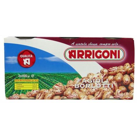 Fagioli Borlotti 3x400 g