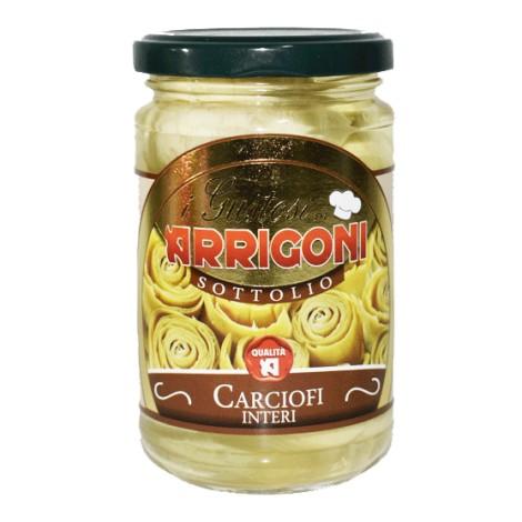 Carciofi Interi ARRIGONI 314ml - 8032927714601