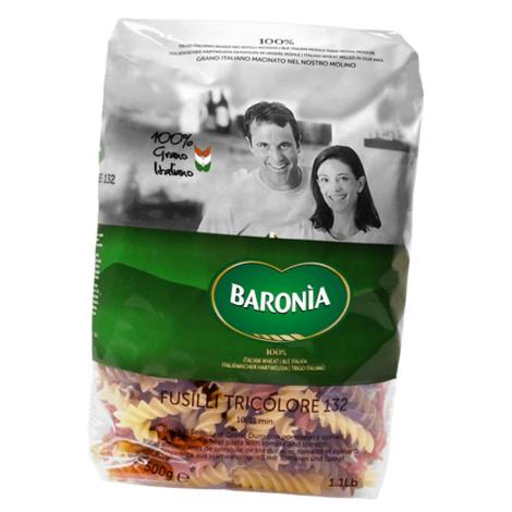 Fusilli Tricolore BARONIA 500g