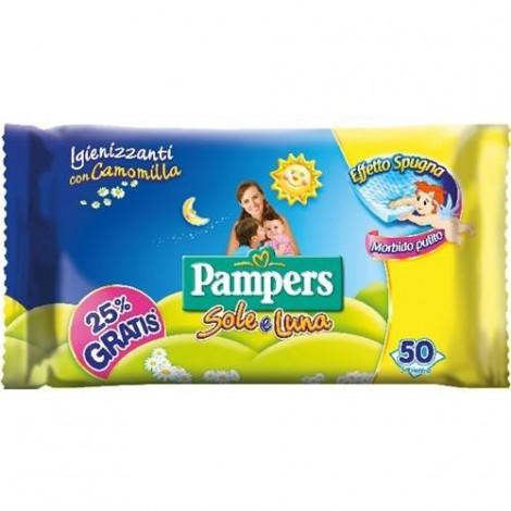 PAMPERS Salviette Baby Sole & Luna 50pz