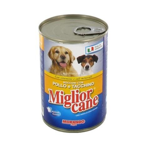 Bocconcini Pollo e Tacchino MIGLIOR CANE 405g - 8007520011105