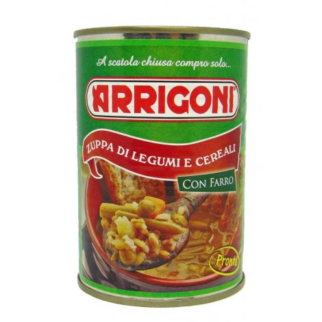 Zuppa Legumi e Cereali con Farro ARRIGONI