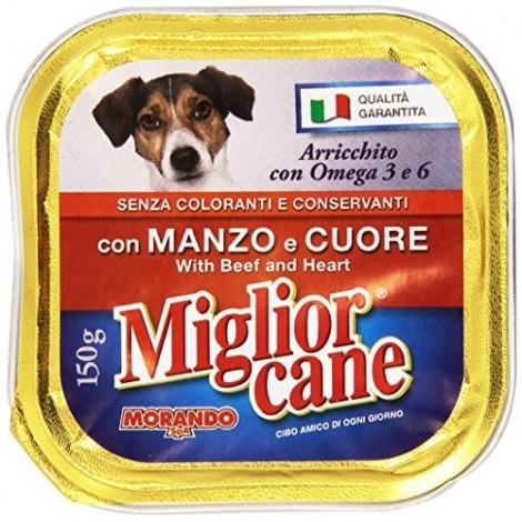 Patè Manzo e Cuore MIGLIOR CANE 150g - 8007520011235