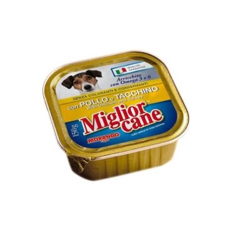 Patè Pollo e Tacchino MIGLIOR CANE 150g - 8007520011266