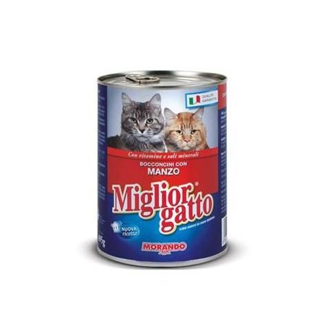 Bocconcini Manzo MIGLIOR GATTO 405g - 8007520012126
