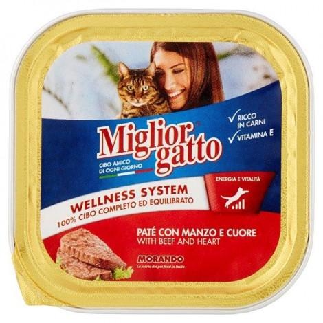 Patè Manzo e Cuore MIGLIOR GATTO 150g - 8007520013062