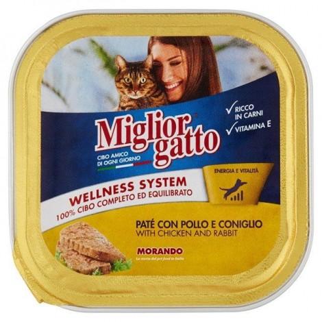 Patè Pollo e Coniglio MIGLIOR GATTO 150g - 8007520013055