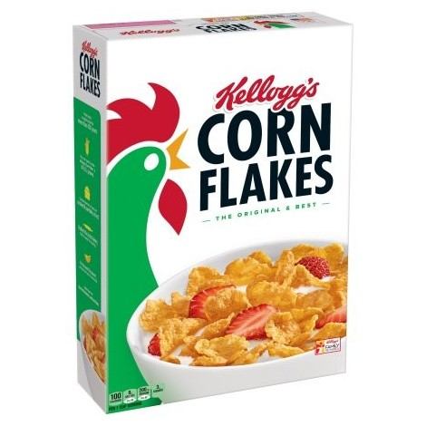 Corn Flakes Original KELLOGG 375g - 8010265640202